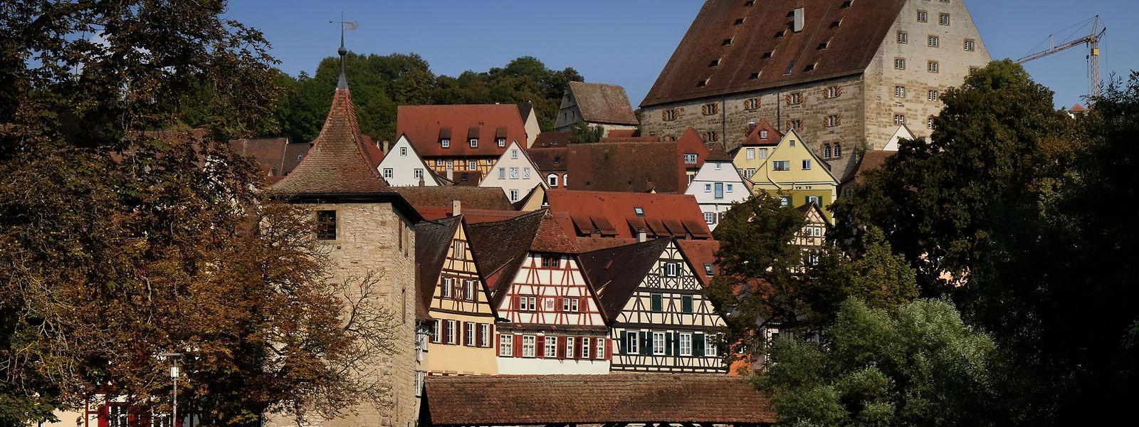 Viel Fachwerk und Geschichte an allen Ecken und Enden: Auf Besucher wirkt Schwäbisch Hall wie ein Open-Air-Museum.
