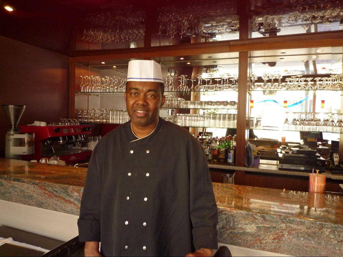 Kapverdische Köstlichkeiten bietet Felisberto Borges in seinem Restaurant im hauptstädtischen Bahnhofsviertel an.