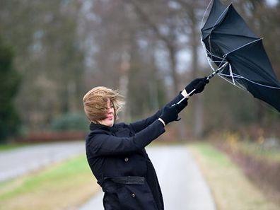 Sturmtief Ruzica hat hohe Windgeschwindigkeiten im Gepäck.