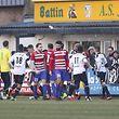 Rudelbildung / Fussball BGL Ligue Luxemburg, 11. Spieltag Saison 2017-2018 / 18.02.2018 / Jeunesse Esch - Fola Esch / Stade de la Frontière / Foto: Yann Hellers