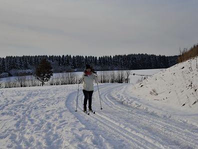 Im hohen Norden heißt es Ski und Rodel gut.