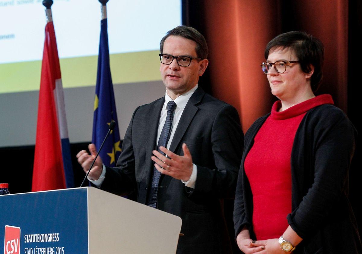Generalsekretär Laurent Zeimet und die beigeordnete Generalsekretärin Stéphanie Weydert hatten die Überarbeitung der Parteisatzung koordiniert. Alle Empfehlungen des CSV-Nationalvorstands wurden, bis auf die Frauenquote, von den Delegierten angenommen.