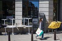 Wirtschaft, Restaurants, Cafés: wie ist die Lage? Klage, warum sie erst am 1. Juni öffnen dürfen, Paname, Foto: Lex Kleren/Luxemburger Wort