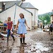überschwemmungen - Ermsdorf -  aufräumarbeiten - Photo : Pierre Matgé
