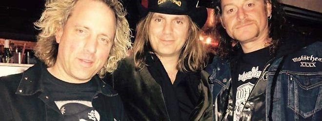 Klaus Fabry, Lemmys Sohn - Paul Inder - und Luc Belleville.