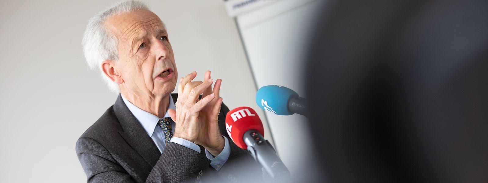 Der ehemalige Ombudsman Marc Fischbach ist zufrieden mit der politischen Begleitung des Pflegesektors.