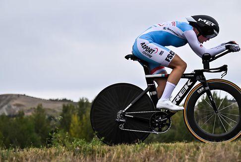Radsport-WM: Faber schlägt sich tapfer