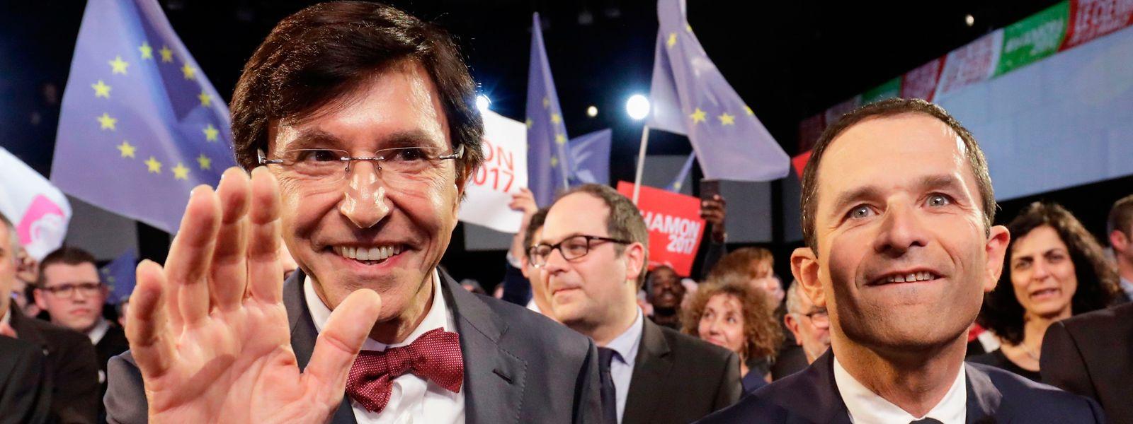 Elio Di Rupo (à g.) succède au Marchois René Collin comme ministre wallon de la Grande Région