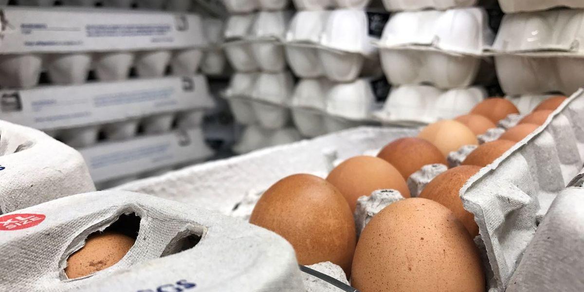 In Luxemburg wurden weitere Eier aus dem Vertrieb genommen.