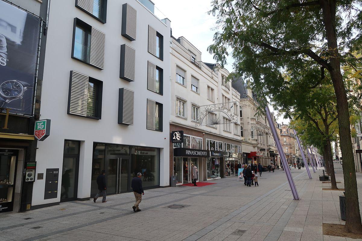 In der Alzettestraße herrscht in vielen Lokalen gähnender Leerstand.