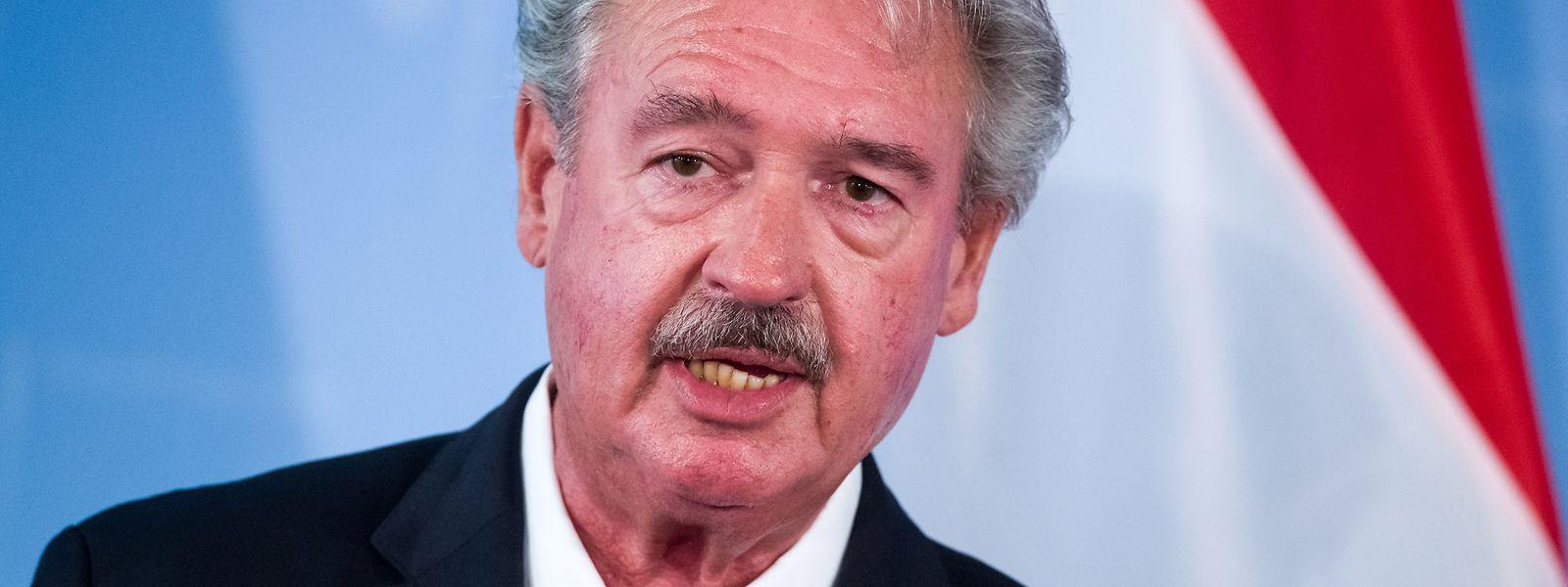 Jean Asselborn fordert eine politische Lösung in Syrien.