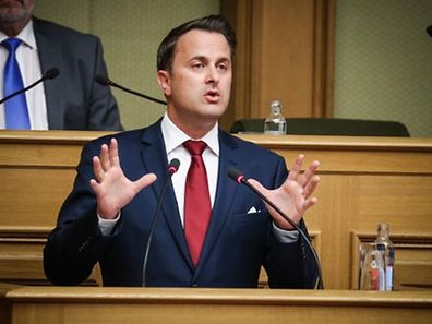 Prime Minister Xavier Bettel was some 20 minutes into his speech when it was decided to interrupt the session.