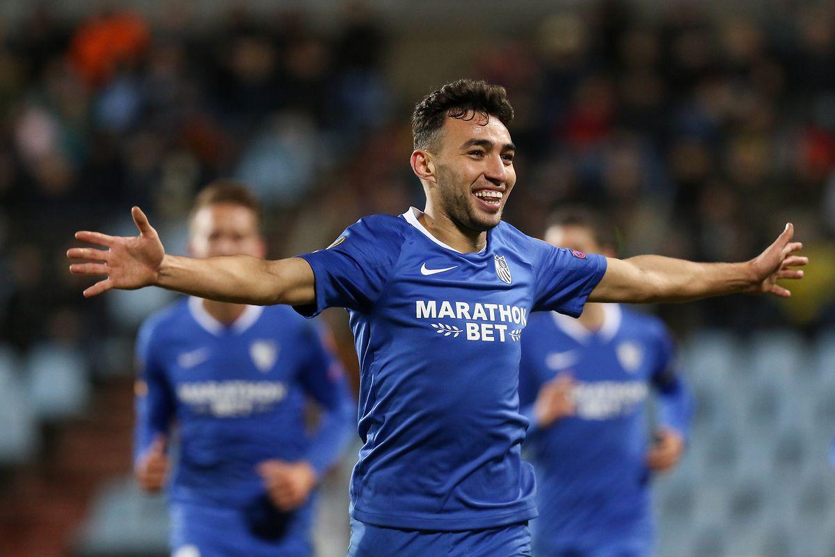 Munir erzielte drei Treffer für Sevilla.