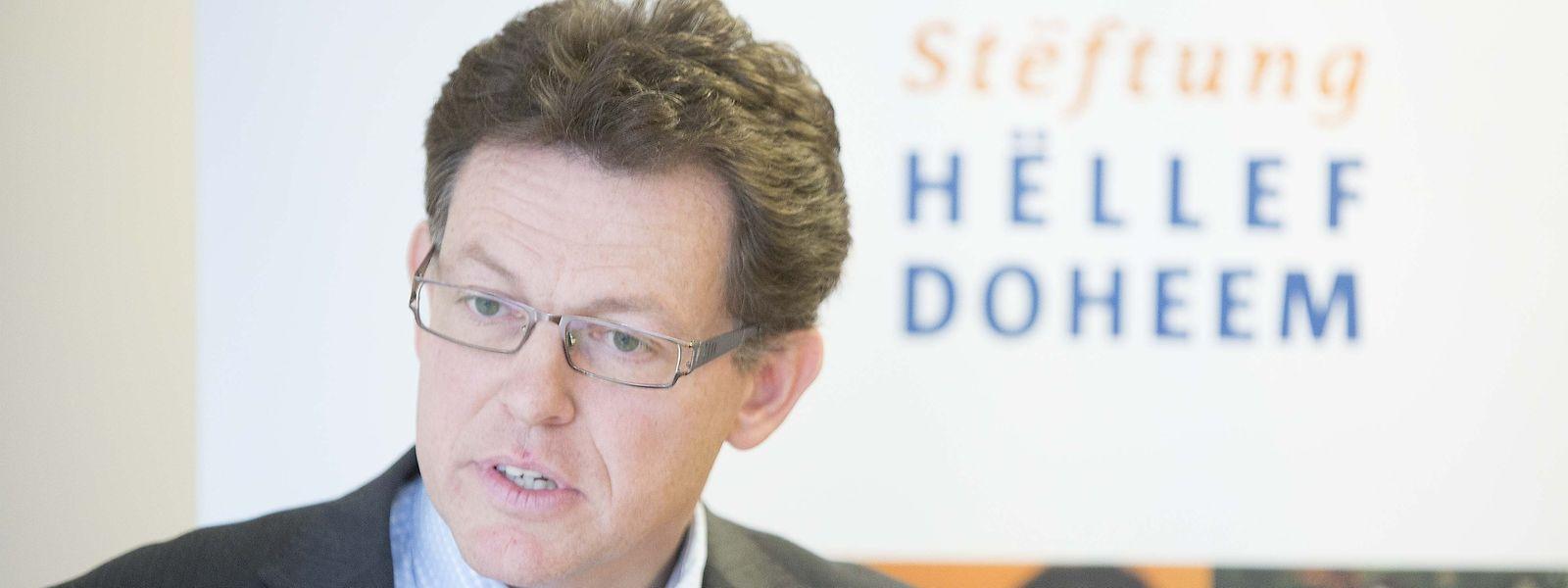 """Benoît Holzem, der Generaldirektor der Stiftung """"Hëllef Doheem""""."""