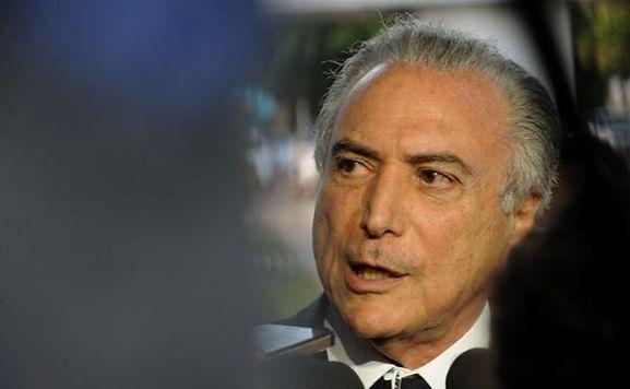 O Presidente do Brasil, Michel Temer.