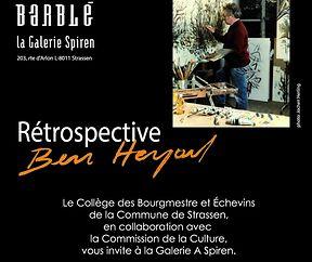 Rétrospective Ben Heyart