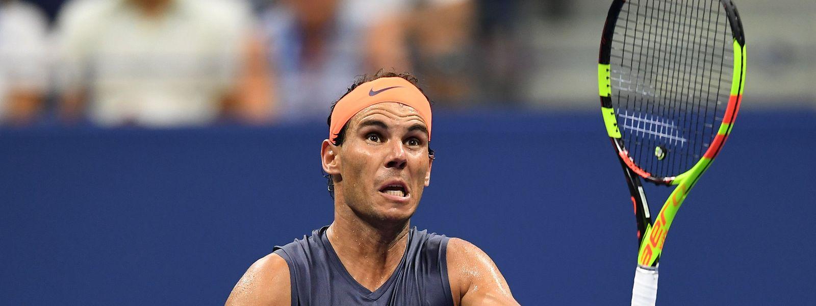 Quel combat pour Rafael Nadal, victorieux de Dominic Thiem en quart de finale à l'US Open