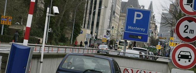 Au parking Monterey, le tarif horaire passera de 1,50 euro à 2 euros le 1er février 2013.