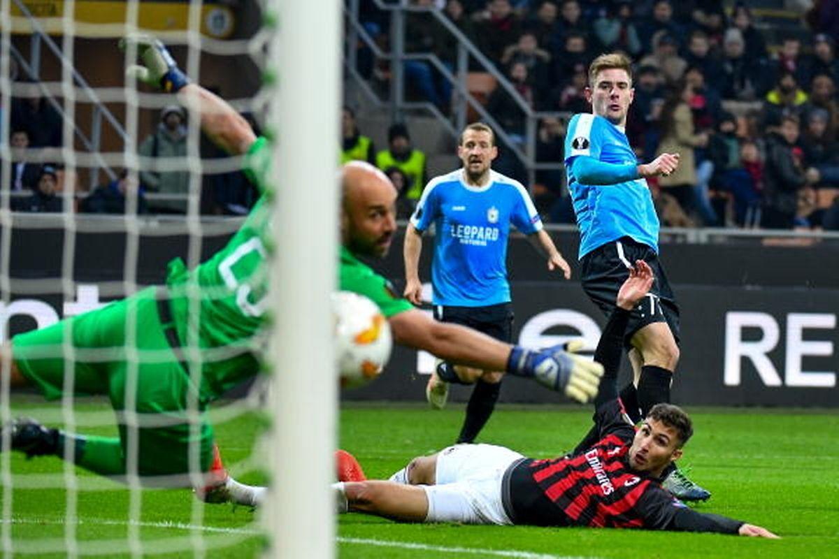 Pour Dave Turpel et Dominik Stolz, buteurs contre les Milanais, le parcours en Coupe d'Europe restera à jamais inoubliable, mais les deux attaquants ont rapidement dû se replonger dans le quotidien du championnat.