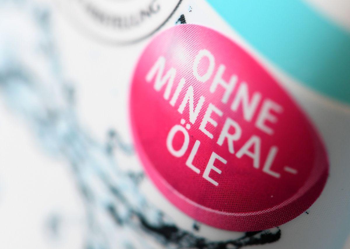Auch Mineralöle stehen in der Kritik
