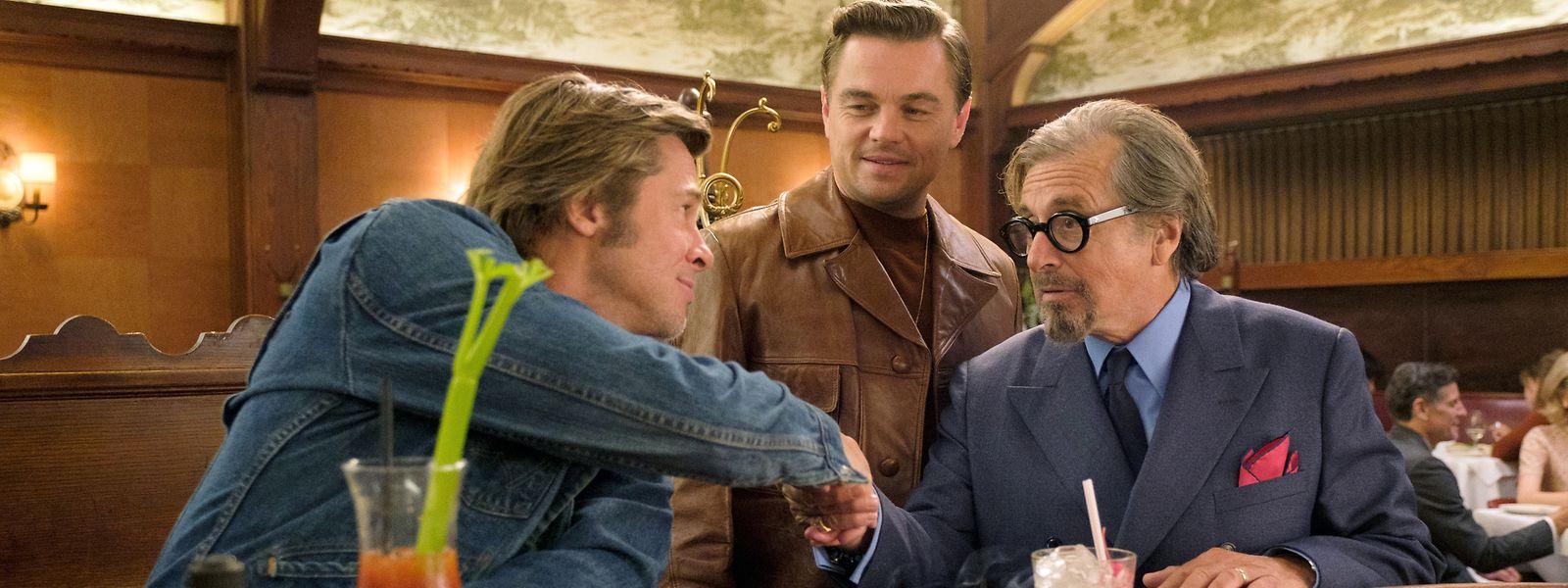 Brad Pitt, Leonardo DiCaprio et Al Pacino sont à l'affiche de «Once Upon A Time In... Hollywood».