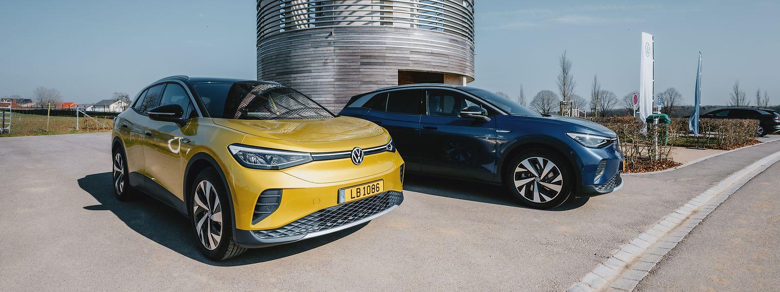 VW hofft, dass der neue ID.4 in Zukunft häufiger auf den Straßen Luxemburg zu sehen sein wird – wie etwa hier in Berdorf.
