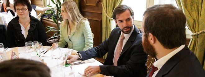 Highlight des viertägigen Events stellte zweifelsohne der Besuch von Erbgroßherzog Guillaume und Prinzessin Stéphanie dar.