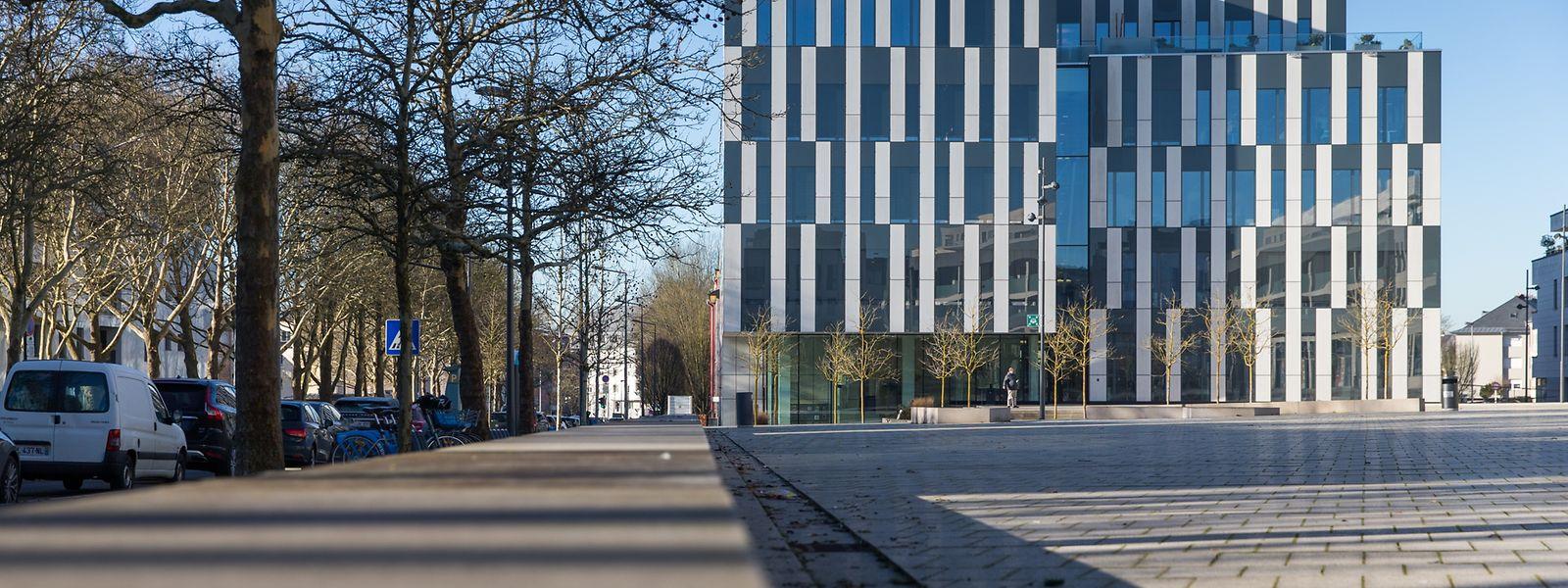 Le siège du Fonds du Logement situé boulevard Marcel Cahen, à Merl.
