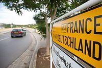 Politik, Grenze Luxembourg Deutschland Schengen, Foto: Chris Karaba/Luxemburger Wort