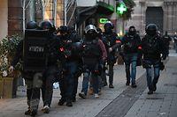 La Préfecture indique ce mercredi matin que 350 policiers et gendarmes sont toujours mobilisés à Strasbourg pour traquer le tireur en fuite.