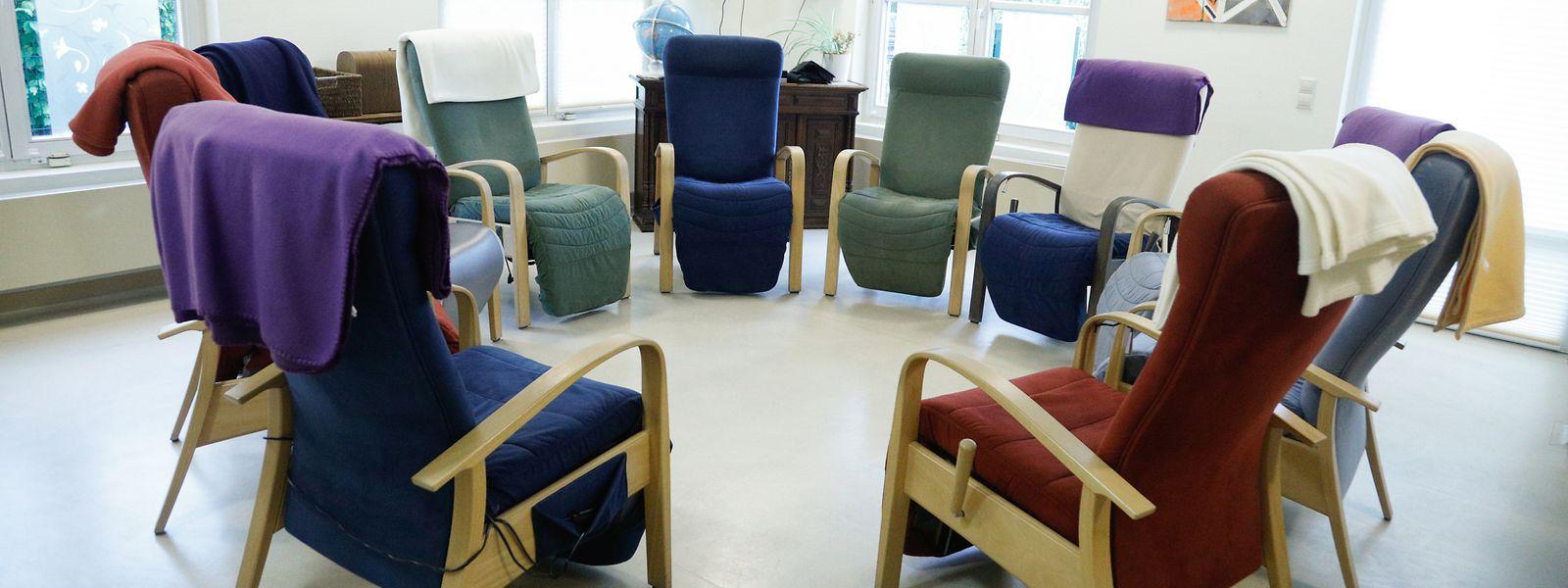 Im Foyer du jour in Dommeldingen können Alzheimer-Patienten den Tag verbringen.