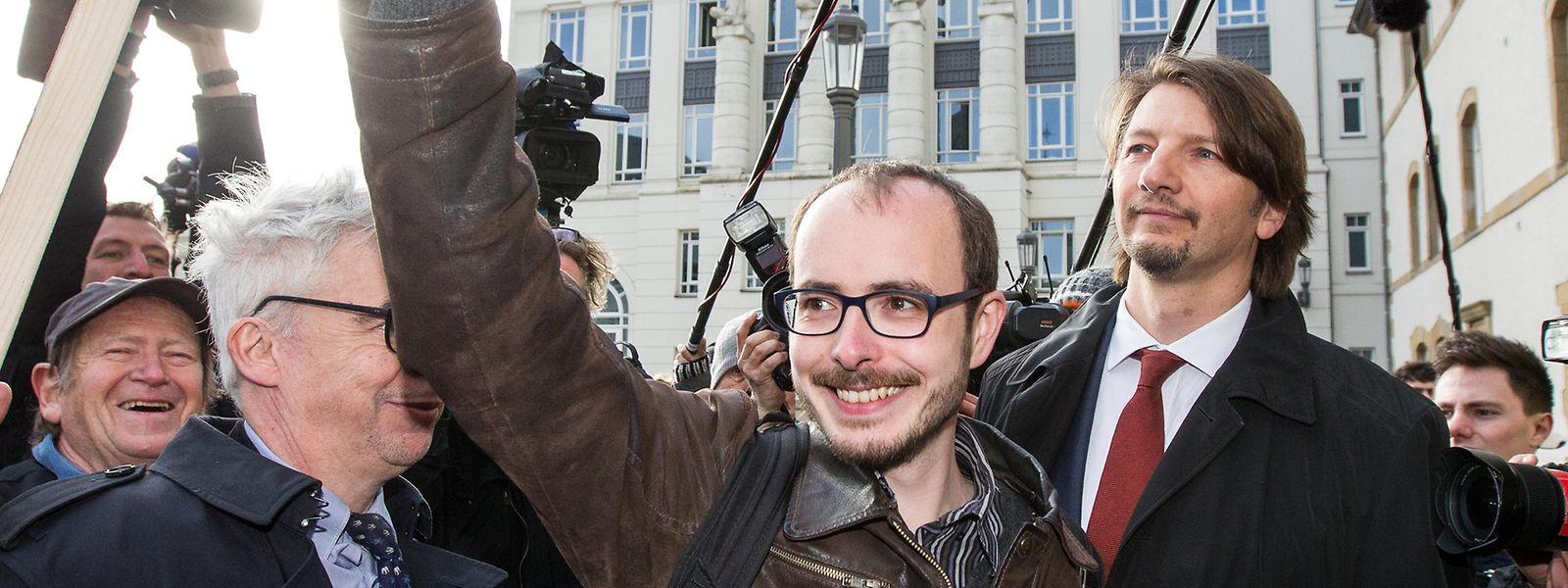 """""""Eine EU-weite Richtlinie ist ein sehr positiver Schritt für das reibungslose Funktionieren der Demokratie"""", so Antoine Deltour."""