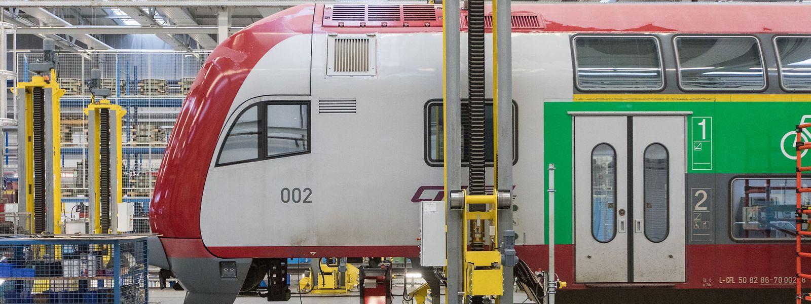Die Züge der CFL werden seit 2015 im Zentralatelier in der Hauptstadt gewartet.
