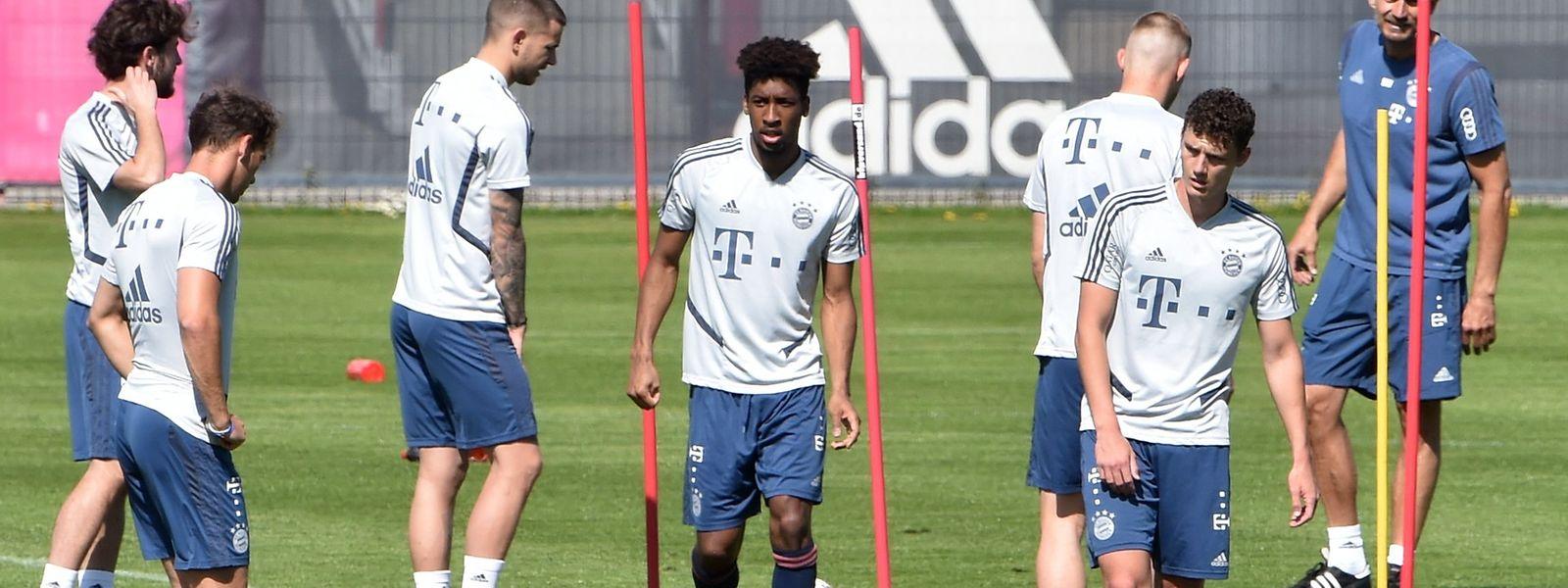 Les joueurs du Bayern de Munich ont déjà repris l'entraînement depuis quelques jours.