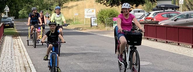 Am ersten und dritten August-Wochenende hatten zahlreiche Ausflügler von den für die Radfahrer reservierten Straßen und Wegen zwischen dem Kiischpelt und der Nordspitze profitiert.