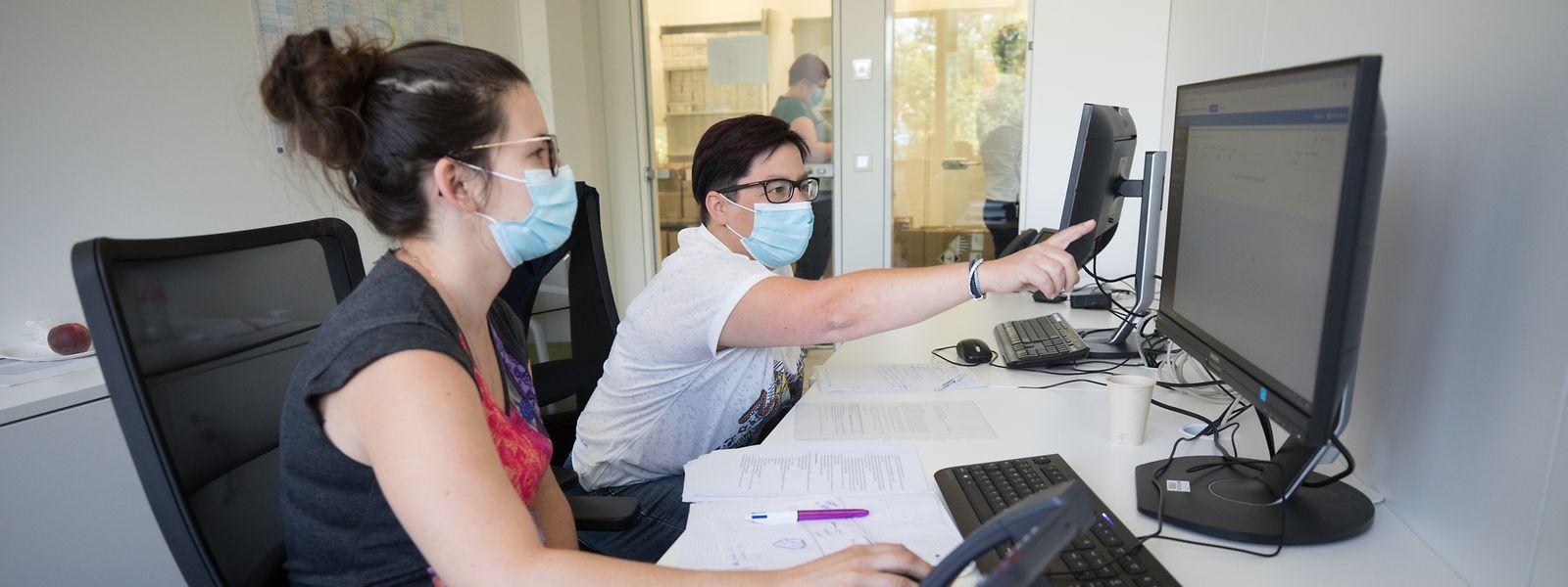 Über 4.000 Anrufe werden vom Sitz der Sanitärinspektion in Hamm pro Woche getätigt.
