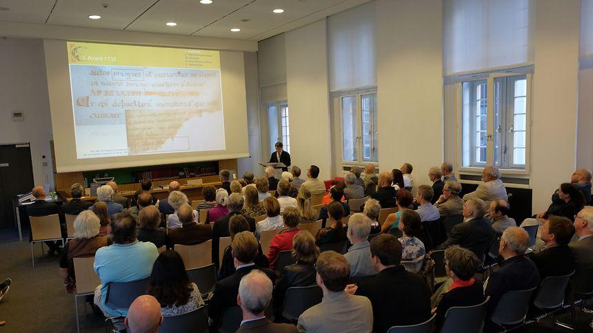 76 manuscrits complets, datant du 9e au 17e siècle, ont été présentés au public.