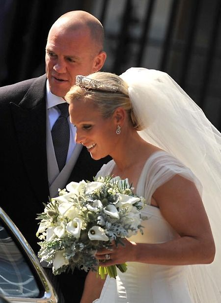 Zara Phillips und Mike Tindall heirateten 2011.