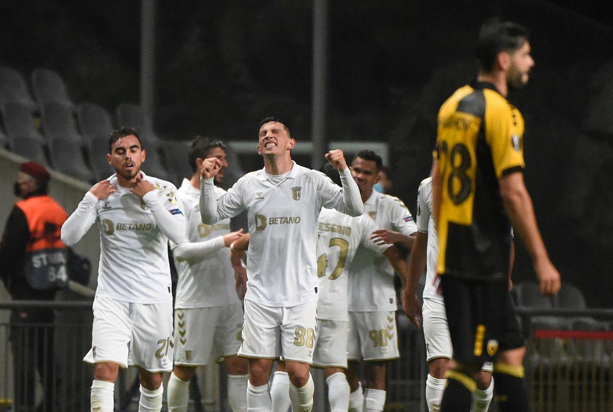 Minhotos somaram a segunda vitória na Liga Europa.