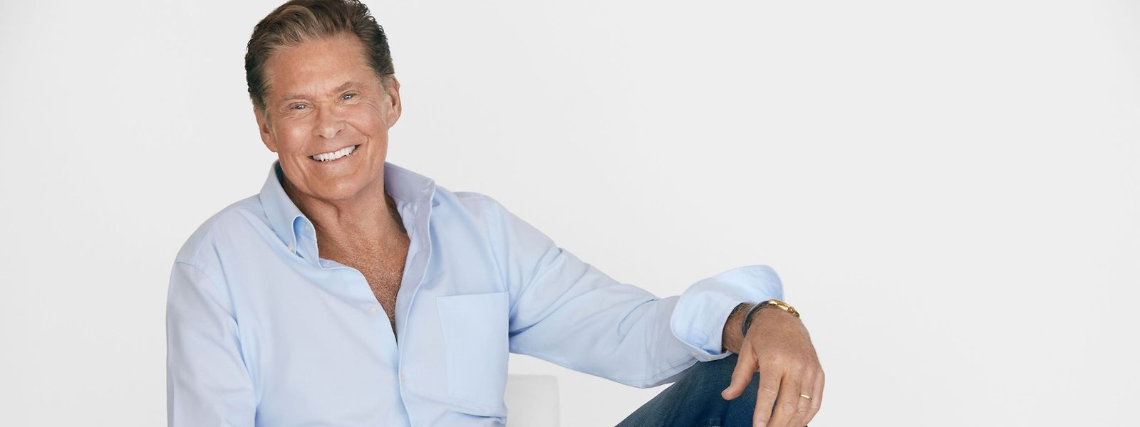 """""""The Hoff"""", wie David Hasselhoff von seinen Fans genannt wird, ist vor allem im deutschsprachigen Raum äußerst populär – darum ist er auch gerne in Europa unterwegs."""