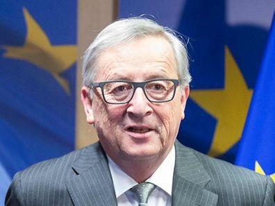 Jean-Claude Juncker, lundi 15 février 2016.