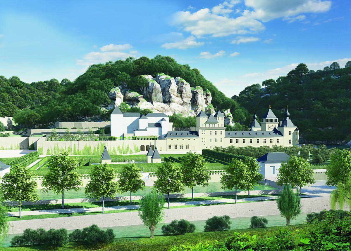 Virtual restoration of Château de Mansfeld Image: Sanja Simic