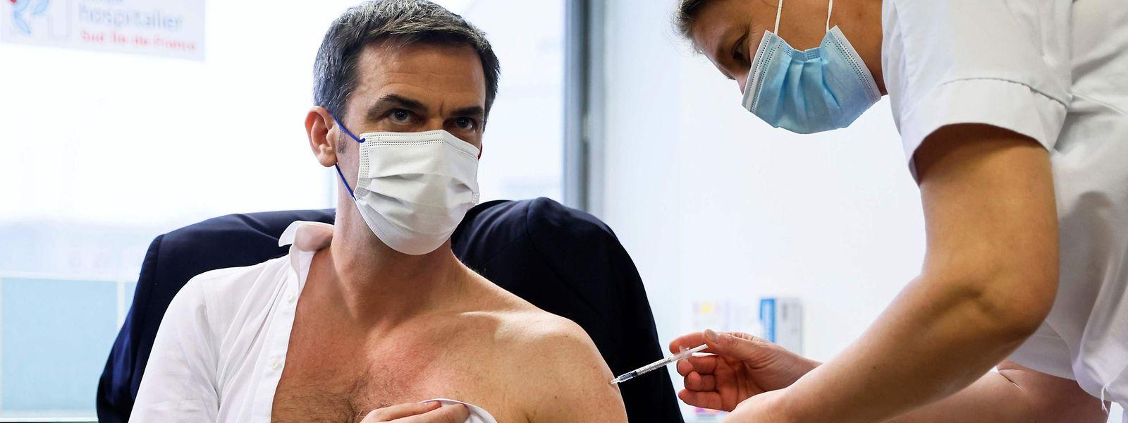 Une campagne de vaccination XXL fait partie des options envisagées par le ministre de la Santé pour la Moselle.
