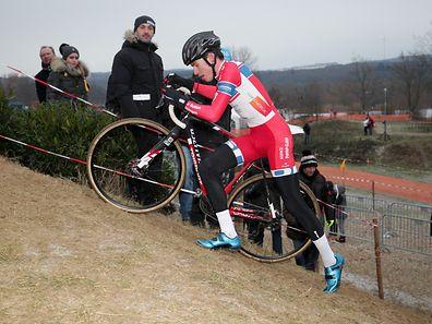 Scott Thiltges (LG Alzingen - 4)/ 07.01.2017 Radsport, Velo, Cyclo-Cross, Saison 2016/17 / 07.01.2017 /Nationale Meisterschaften, Cyclo Cross Championnat 2016/17 / Remerschen /Foto: Ben Majerus