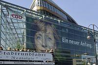 Das Konrad-Adenauer-Haus im Berliner Ortsteil Tiergarten.