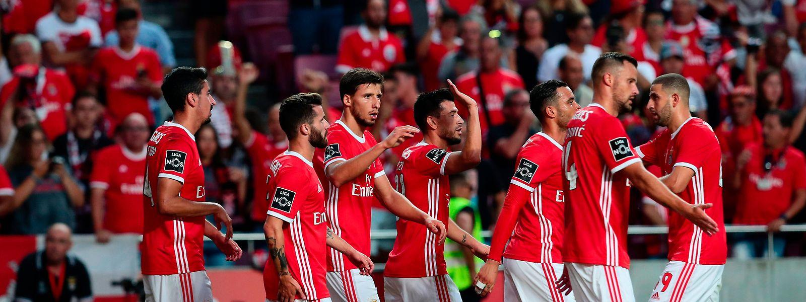 Benfica e Leipzig defrontam-se pela primeira vez, num encontro com arbitragem do grego Tasos Sidiropoulos