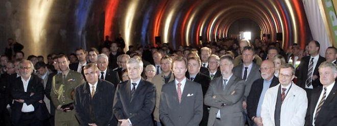Zahlreiche Ehrengäste waren der Einladung am Donnerstagnachmittag gefolgt.