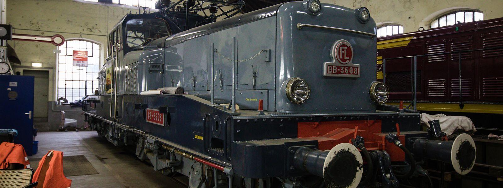 """Geht es nach dem Einsenbahnverein """"1604 Classics"""", wird diese Lokomotive in Zukunft auf der Brache Schifflingen ausgestellt."""