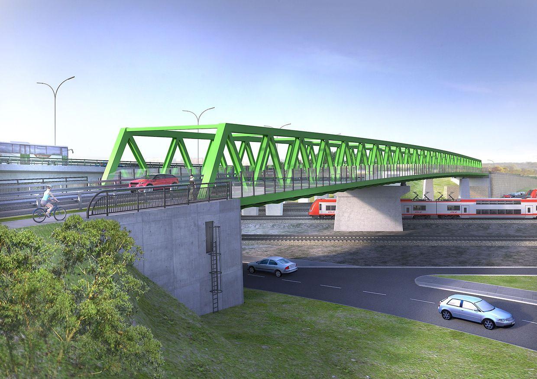 So soll die Brücke nach Ende der Arbeiten aussehen.