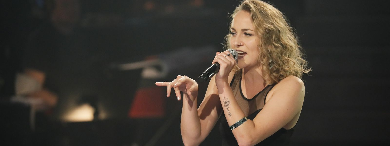 Christine Heitz zeigte bei ihrem Auftritt nochmals eine deutliche Steigerung.